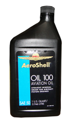SHELL AEROSHELL OIL 100