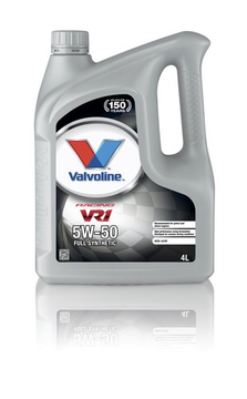 VALVOLINE VR1 RACING SYNPOWER  5W-50