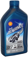 SHELL ADVANCE 4T AX7